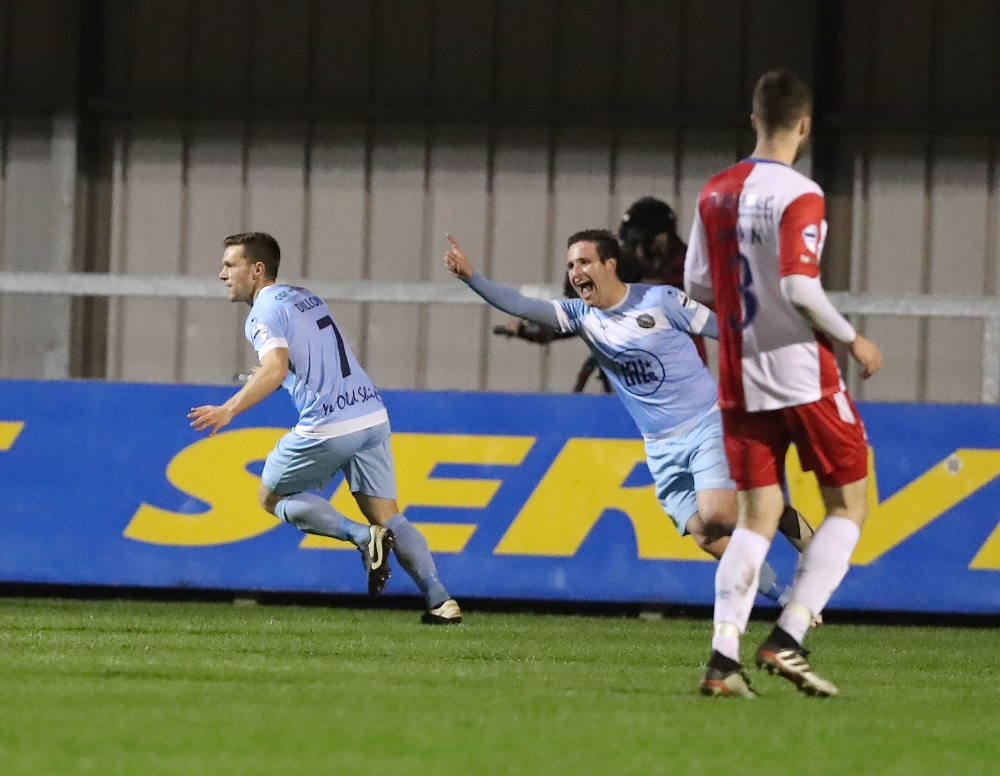 WARRENPOINT GIVE LINFIELD THE BLUES